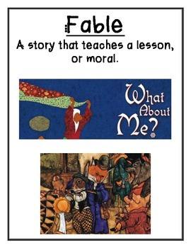 Reading Street 3rd Grade Genre Posters