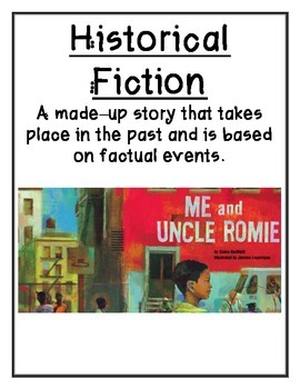 Reading Street 3rd Grade Genre Posters