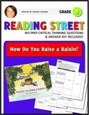 Reading Street 3rd Grade: How Do You Raise a Raisin? [NO PREP Comprehension Pkt]