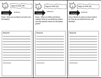 Reading Street 3rd Grade Jalapeno Bagels Trifold
