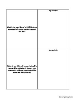 Reading Street 3rd Grade: Prudy's Problem [NO PREP Comprehension Packet]