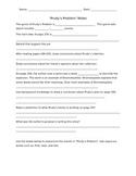 Reading Street 3rd Grade Prudy's Problem Note Taking Skills