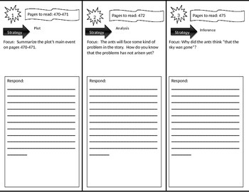 Reading Street 3rd Grade Two Bad Ants Trifold