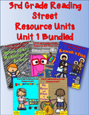 Reading Street 3rd Grade UNIT 1  Resource Packs! Bundled!