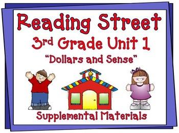 Reading Street 3rd Grade Unit 1 2008 edition Supplemental Materials
