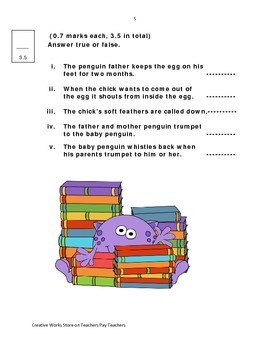 Reading Street 3rd Grade Unit 2 Reading Quizzes ( Bundled)