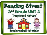 Reading Street 3rd Grade Unit 3 Printables | 2008