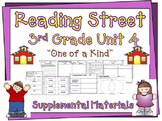 Reading Street 3rd Grade Unit 4 2008 edition Supplemental Materials