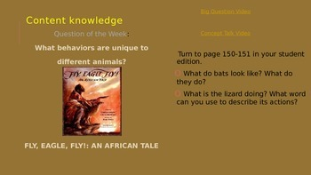 Reading Street 3rd Grade Unit 4 Week 5 Fly, Eagle, Fly!: An African Tale ppt.