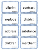 Reading Street, 3rd Grade, Unit 5 Station Cards
