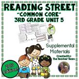 Reading Street 3rd Grade Unit 5  Common Core 2013 Supplemental Materials