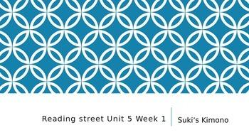 Reading Street 3rd Grade Unit 5 Week 1 Suki's Kimono PPT.