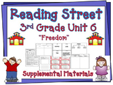 Reading Street 3rd Grade Unit 6 2008 edition Supplemental Materials