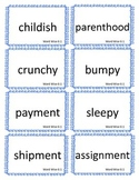 Reading Street, 3rd Grade, Unit 6 Station Cards
