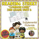 Reading Street 3rd Grade Unit 6 Printables | 2013