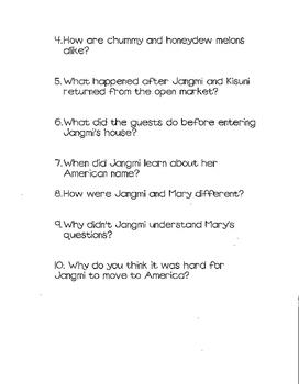 Reading Street 3rd grade Study Guide Unit 5 Goodbye, 382 Shin Dang Dong