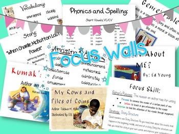 Reading Street 3rd grade Unit 1 Focus Walls