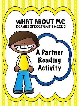 Reading Street 3rd grade Unit 1 partner reading bundle cen