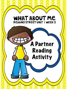 Reading Street 3rd grade Unit 1 partner reading bundle centers group work