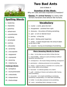 Reading Street 3rd grade Unit6 Review sheets bundled study guide centerts groups