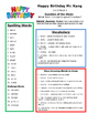Reading Street 3rd grade Unit 6 Review sheets bundled