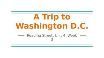 Reading Street 4.3 A Trip to Washington D.C. PowerPoint