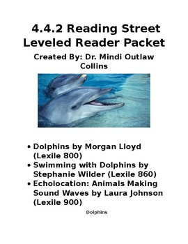 Reading Street 4.4.2 Leveled Book Packet