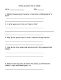 Reading Street (4th Grade) Amelia and Eleanor Comprehension Questions *Editable