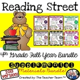 Reading Street 4th Grade Common Core Unit 1-6  2013 edition Full Year Bundle