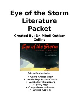 Reading Street 4th Grade ~ Eye of the Storm Literature Packet