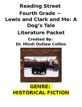 Reading Street 4th Grade ~ Lewis and Clark and Me Bundled Packet
