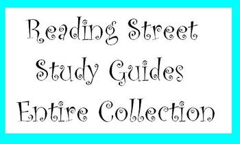 Reading Street 4th Grade Story Study Guides - Entire Collection