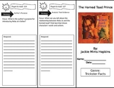 Reading Street 4th Grade The Horned Toad Prince Trifold