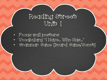 Reading Street 4th Grade Unit 1 Focus Wall Posters and Activities
