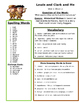 Reading Street 4th Grade Unit 1 Review Sheets