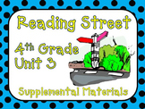 Reading Street 4th Grade Unit 3 2008 version Supplemental Materials