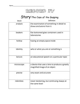 4th Grade Reading Street Unit 4 Complete Guided Reading Packet