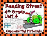 Reading Street 4th Grade Unit 4 2008 version Supplemental Materials