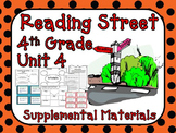 Reading Street 4th Grade Unit 4 Printables | 2008