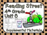 Reading Street 4th Grade Unit 5 Printables | 2008