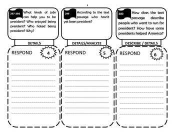 Reading Street 4th Grade Unit Two - Trifolds + Activities Bundle