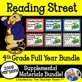 Reading Street 4th Grade Units 1-6 2008 Supplemental Materials Bundle