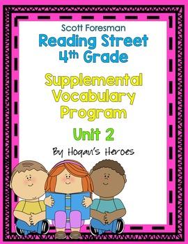 Reading Street 4th Grade Vocabulary Unit 2