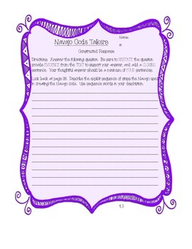 Reading Street 4th Grade journal 4.3