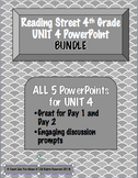 Reading Street 4th- UNIT 4 PowerPoint BUNDLE!
