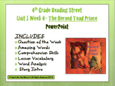 Reading Street 4th- Unit 1 Week 4 PowerPoint- The Horned T
