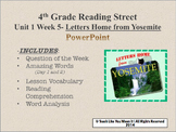 Reading Street 4th- Unit 1 Week 5 PowerPoint- Letters Home