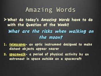 Reading Street 4th- Unit 5 Week 5 PowerPoint- Moonwalk
