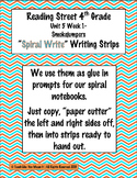 Reading Street 4th- Unit5 Week1 'Spiral Write' Strips for Smokejumpers