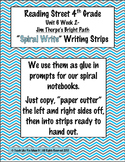 Reading Street 4th- Unit6 Week2 'Spiral Write' Strips for Jim Thorpe